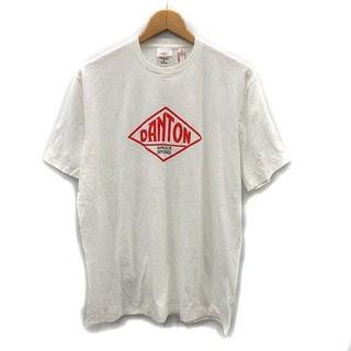 DANTON - ダントン DANTON カットソー Tシャツ ロゴ 半袖 42 XL 白