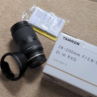 タムロン(TAMRON)のTAMRON 28-200mm F/2.8-5.6 Di III RXD ソニー(レンズ(ズーム))