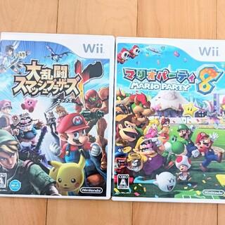 Wii - 大乱闘スマッシュブラザーズX マリオパーティ8