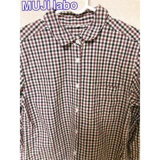 ムジルシリョウヒン(MUJI (無印良品))のMUJI labo 七分袖チェックシャツ(シャツ/ブラウス(長袖/七分))