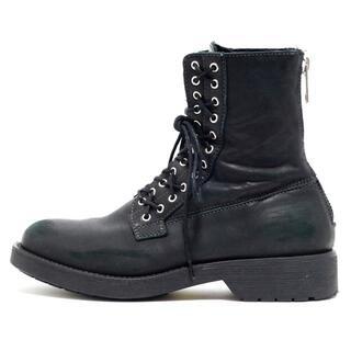 ディーゼル(DIESEL)のディーゼル ショートブーツ EU 39 - 黒(ブーツ)