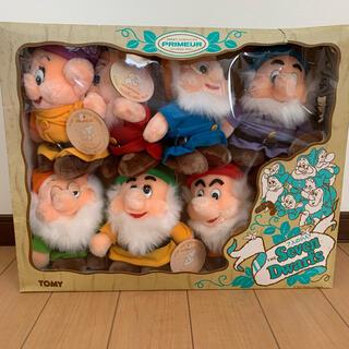 ディズニー(Disney)の7人の小人 コンプリート品 限定品(インテリア雑貨)