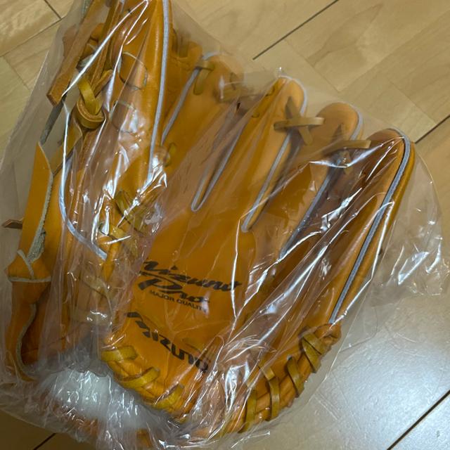 MIZUNO(ミズノ)の新品未使用 ミズノプロ  Mマーク スポーツ/アウトドアの野球(グローブ)の商品写真