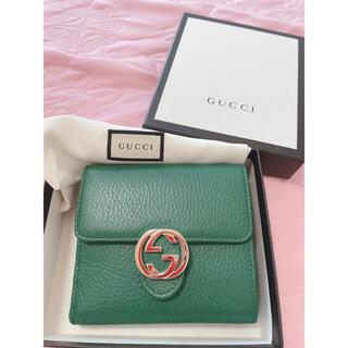 Gucci - GUCCI 折り財布 レアカラー