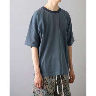 BEAUTY&YOUTH UNITED ARROWS - monkey time PIGMENT NEP TRIM NECK T/Tシャツ