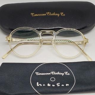 TENDERLOIN - TIMEWORN CLOTHING 白山眼鏡店 LAND MASTER クリア