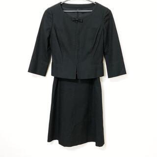 ハロッズ(Harrods)のハロッズ ワンピーススーツ サイズ1 S - 黒(スーツ)