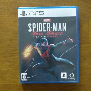 ソニー(SONY)のPS5スパイダーマンマイルズモラレス中古(家庭用ゲームソフト)