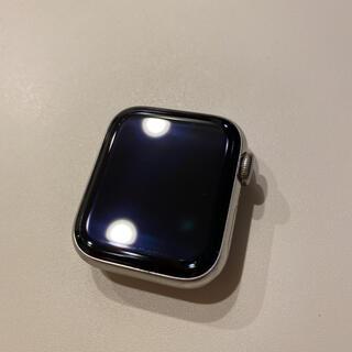 アップル(Apple)のApple Watch 4 シルバーステンレス 40mm Cellular 美品(その他)