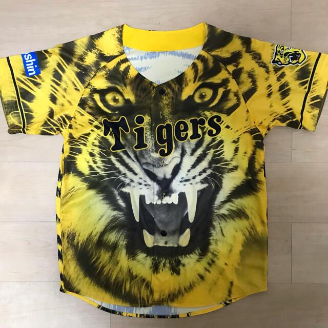 MIZUNO(ミズノ)の阪神タイガース 2021ウル虎の夏 ユニフォーム2枚セット スポーツ/アウトドアの野球(ウェア)の商品写真