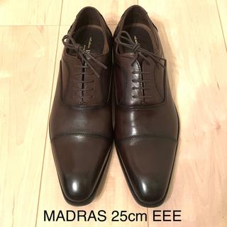 madras - MADRAS 本革ビジネスシューズ 25cm EEE
