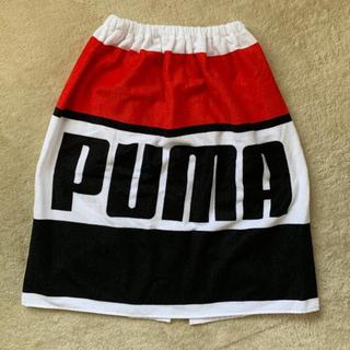 プーマ(PUMA)のプーマ   巻きタオル ラップタオル 60㎝丈(タオル/バス用品)