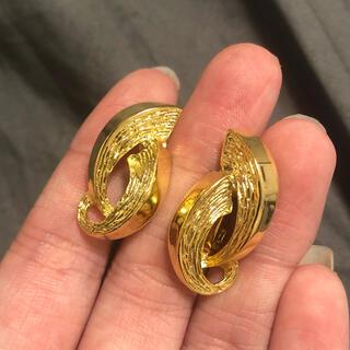 エイボン(AVON)のvintage gold 80s earring ヴィンテージ イヤリング(イヤリング)