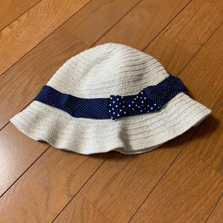エニィファム(anyFAM)の麦わら帽子 オンワード 52cm(帽子)
