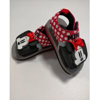 Disney - ※売切値下※【美品】ミニーマウス サンダル 14cm