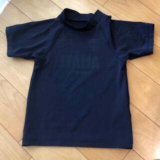 フィラ(FILA)のFILA ラッシュガード半袖 130(マリン/スイミング)