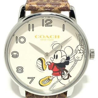 COACH - コーチ 腕時計 - CA.113.4.14.1397 Disney