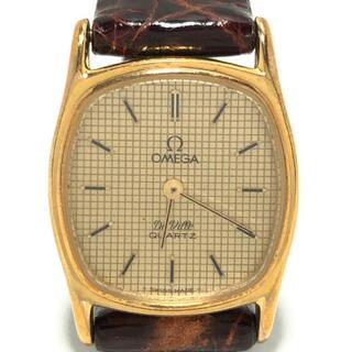 オメガ(OMEGA)のオメガ 腕時計 デビル レディース ゴールド(腕時計)