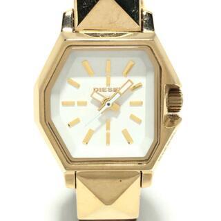 ディーゼル(DIESEL)のディーゼル 腕時計 DZ-5299 レディース 白(腕時計)