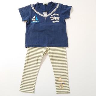 サンカンシオン(3can4on)の90㎝ 男の子 Tシャツ パンツ セット(Tシャツ/カットソー)
