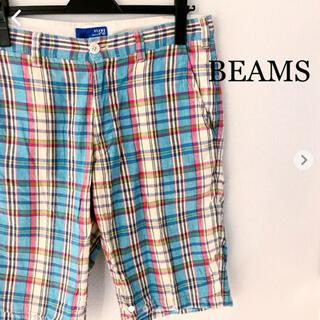 BEAMS - BEAMS ビームス ハーフパンツ Mサイズ チェック