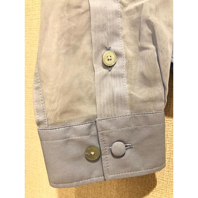 ACNE(アクネ)のACNE アクネ シャツ ブラウス 水色 レディースのトップス(シャツ/ブラウス(長袖/七分))の商品写真