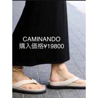 ドゥーズィエムクラス(DEUXIEME CLASSE)の新品未使用!CAMINANDO  カミナンド トングサンダル 36(サンダル)