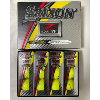 ダンロップ(DUNLOP)のスリクソン Z-STAR XV SRIXON 1ダース イエロー  未使用新品 (その他)