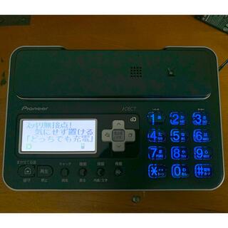 パイオニア(Pioneer)のコードレス電話機  TF-FA70W-k 子機付き(その他)