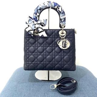 Christian Dior - 超美品❤️レディディオール カナージュバッグ