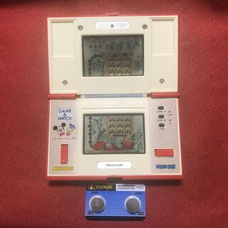 任天堂 - 【偏光板交換済み 新品電池付き】任天堂 ゲーム&ウォッチ ミッキー&ドナルド