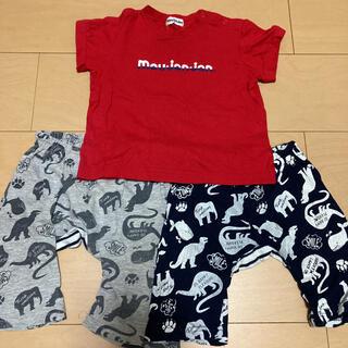 ムージョンジョン(mou jon jon)のムージョンジョン Tシャツ ハーフパンツ まとめ売り(Tシャツ/カットソー)