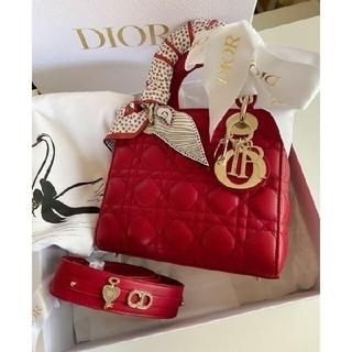 Christian Dior - ディオール レディディオールスモールバッグ ミッツァ付き