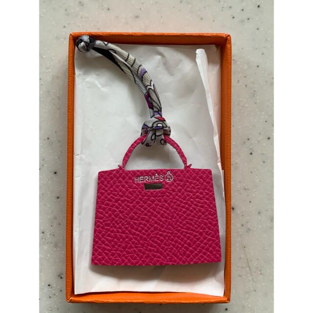 Hermes(エルメス)のHermes♡バッグ型チャーム ハンドメイドのファッション小物(バッグチャーム)の商品写真