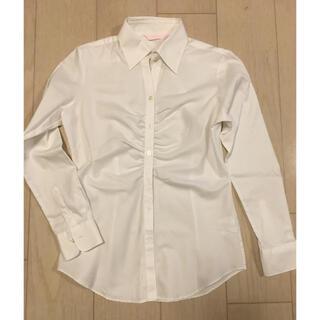 スーツカンパニー(THE SUIT COMPANY)のPSFA パーフェクトスーツファクトリー  白シャツ(シャツ/ブラウス(長袖/七分))