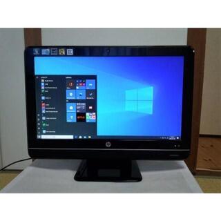 レノボ(Lenovo)の送料無料!Hp・21.5インチ液晶一体型PC・Core i3・1TB・カメラ(デスクトップ型PC)