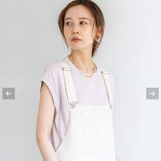 イエナ(IENA)のAURALEE/オーラリー SEAMLESS スリーブレスクルーネックTシャツ(Tシャツ(半袖/袖なし))