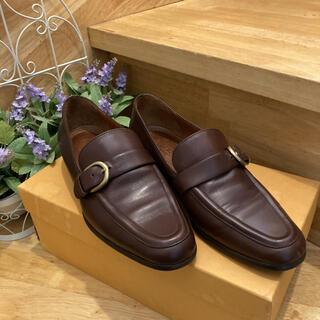 コーチ(COACH)のCOACH ローファー フラットシューズ  22.5cm(ローファー/革靴)