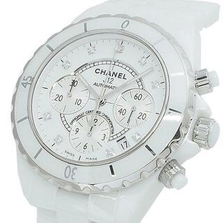 シャネル(CHANEL)のシャネル CHANEL J12 41mm クロノグラフ 9Pダイヤ H2009(腕時計(アナログ))