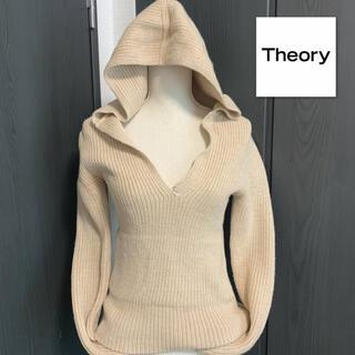 theory - theory プルオーバーニット パーカー