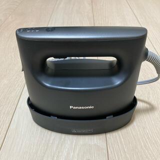 パナソニック(Panasonic)の【極美品】パナソニック NI-CFS770-H 衣類スチーマー グレー(アイロン)