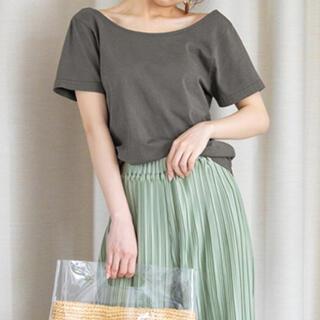 グレイル(GRL)のバックオープンTシャツ(Tシャツ(半袖/袖なし))