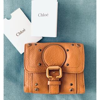 Chloe - 新品Chloe♡パディントン レザーウォレット 二つ折り財布 camel