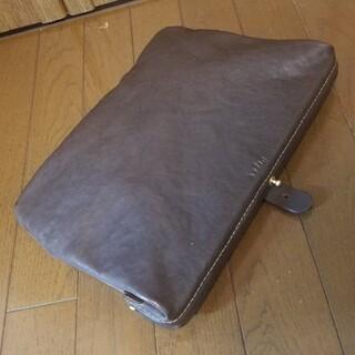 ヘルツ(HERZ)の(未使用)HERZ ヘルツ がま口クラッチバッグ organ オルガン(セカンドバッグ/クラッチバッグ)