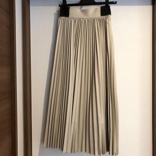 rienda - エブロア♡レザープリーツスカート