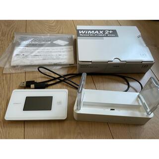 エヌイーシー(NEC)のWiMAX 2+ WX06 クレードル(PC周辺機器)