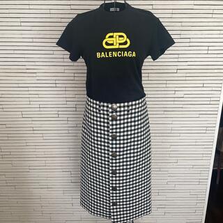 Balenciaga - バレンシアガ チェック スカート