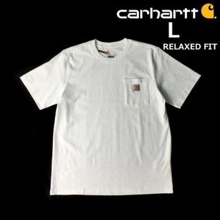 carhartt - カーハート 半袖 Tシャツ リラックスフィット(L)白 181218-B