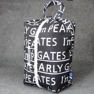 パーリーゲイツ(PEARLY GATES)の【新品】PEARLY GATESゴルフシューズジュースバックBK +words(バッグ)