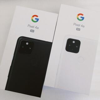 グーグル(Google)のGoogle Pixel 4a 5G 128GB SIMフリー ピクセル セット(スマートフォン本体)
